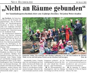 Nordheide Wochenblatt (10.08.2011)
